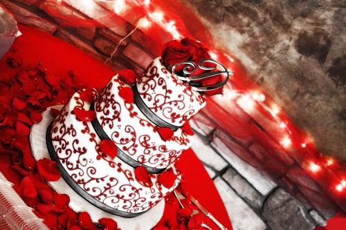 kek perkahwinan-loveiscinta